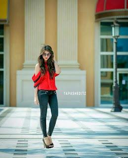 Stylish photos pose for girls