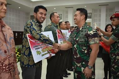 Lomba Karya Jurnalistik TMMD, Sinergitas Mitra Media dan TNI AD Membangun Negeri