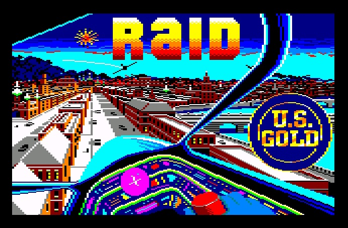 Raid over Moscow - Amstrad CPC