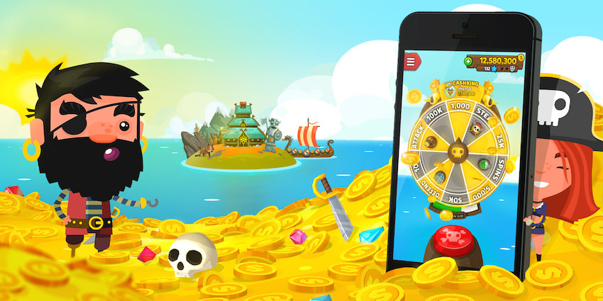 Pirate Kings – Game hot for mobile