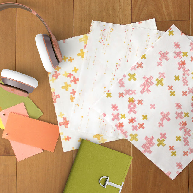 Modern Backgrounds Colorbox is a low volume collection by Zen Chic for Moda