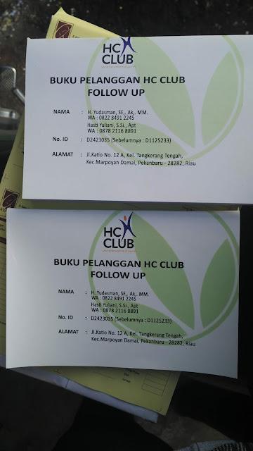 Buku Pelanggan HC Club