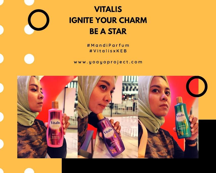Mandi Parfum Ala Spa Dengan Vitalis Body Wash