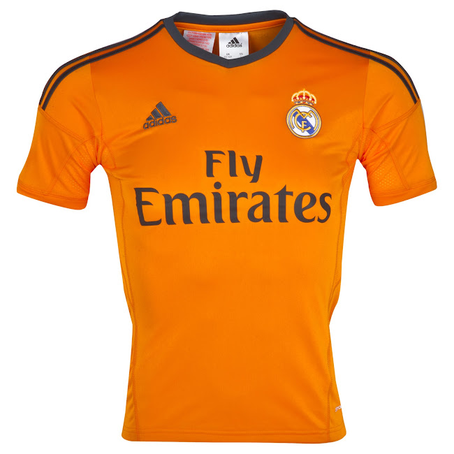 super popular aa706 24ea3 Real Madrid 13-14 Home, Away and Third Kits Released - Footy ...