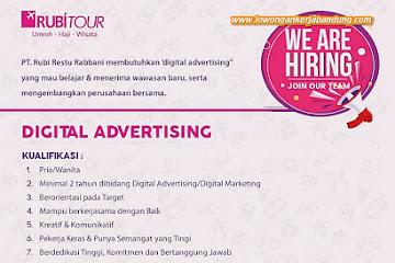 Lowongan Kerja Bandung Digital Advertising Rubitour