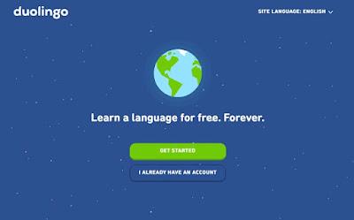 موقع duolingo لتعلم اللغات