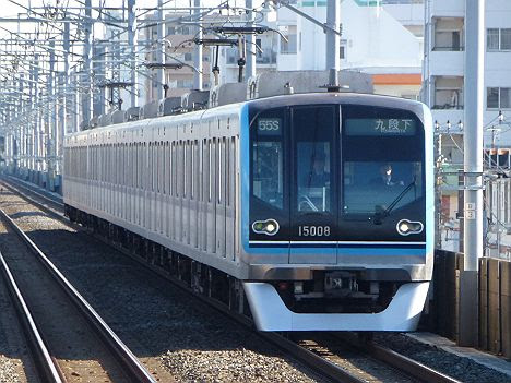 東京メトロ東西線 九段下行き4 15000系(平日1本運行)