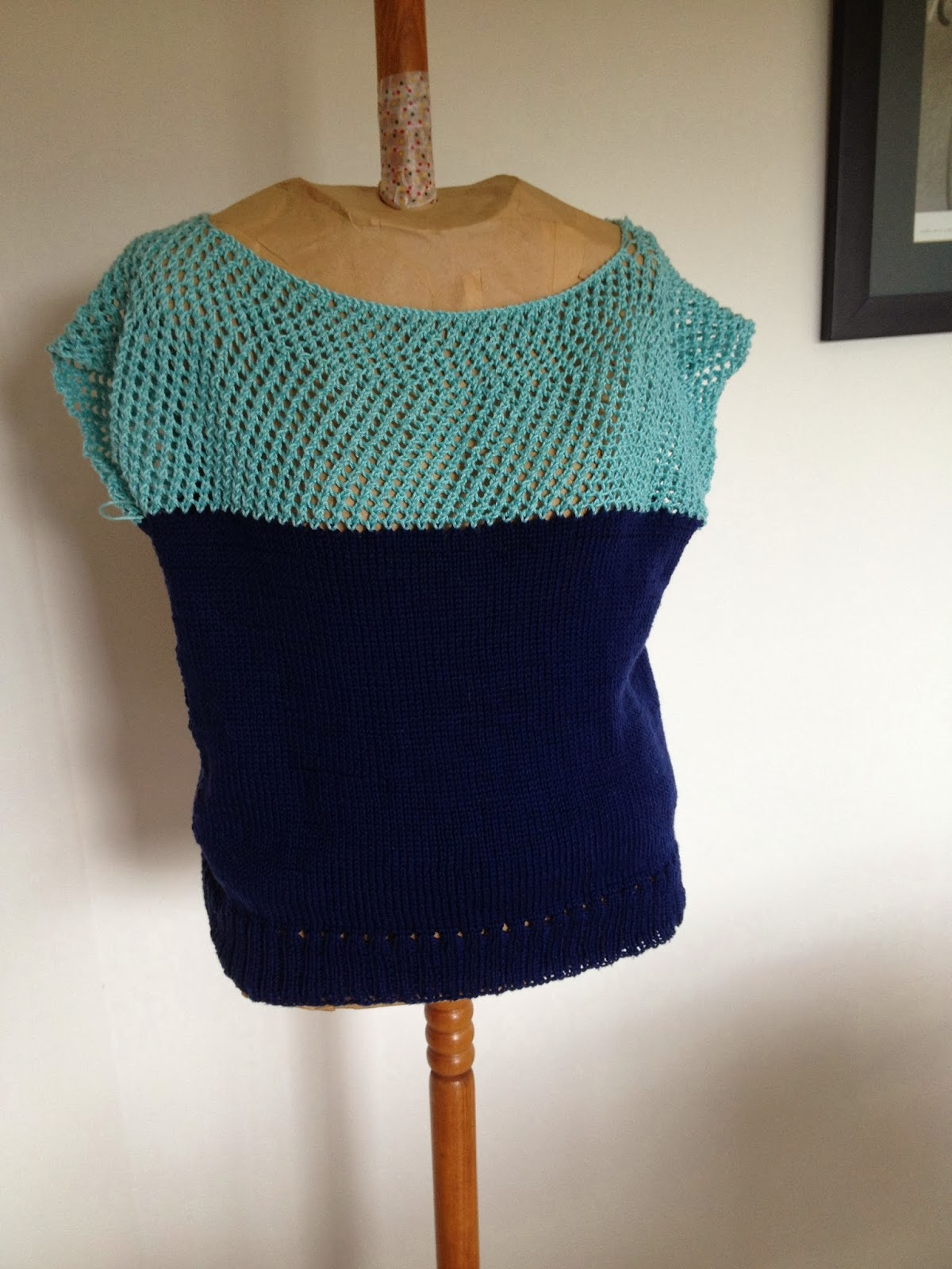Finished - Purl Soho sweater version 2!
