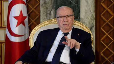 رئيس الجمهورية في المستشفى العسكري بعد تعرضه لوعكة صحية