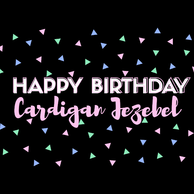 Happy 4th Birthday Cardigan Jezebel!