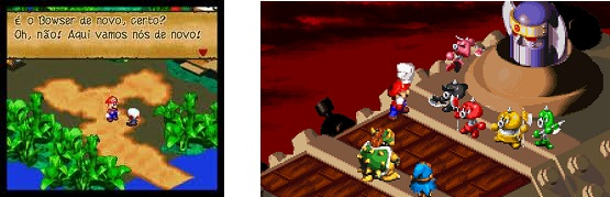 Super Mario RPG do Super Nintendo (snes)