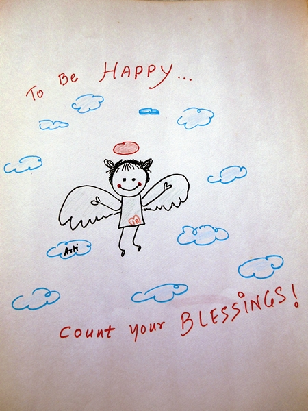 Counting my Blessings doode art