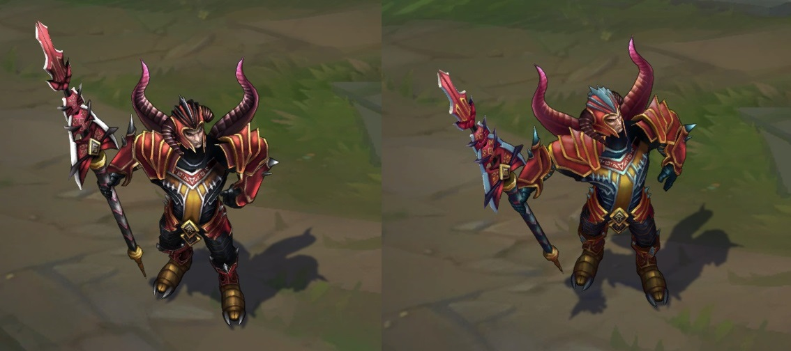 Dragonslayer Jarvan IV's lance is way too small now