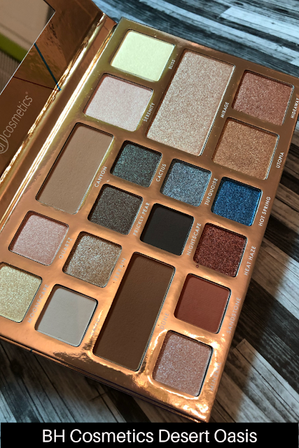 BH Cosmetics Desert Oasis (Review and Swatches) Neutral palette