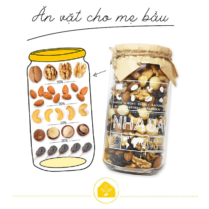 """[A36] Bổ sung dưỡng chất """"vàng"""" cho Mẹ Bầu 7 tháng với hạt dinh dưỡng"""