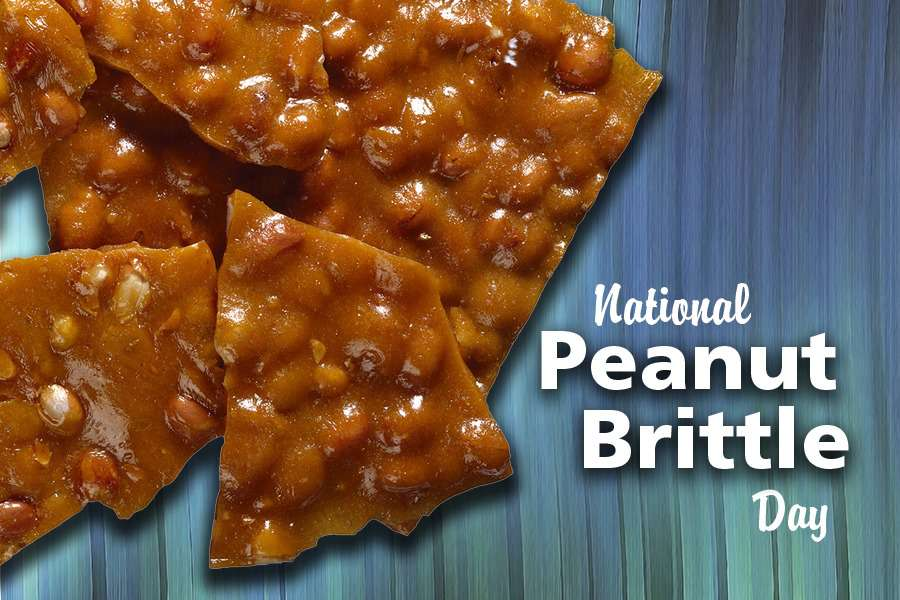 National Peanut Brittle Day Wishes Beautiful Image