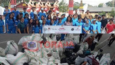 Bersatu Untuk Indonesia Bersih, World Cleanup Day Tana Toraja 2021