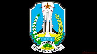 lambang logo provinsi jawa timur png transparan - kanalmu
