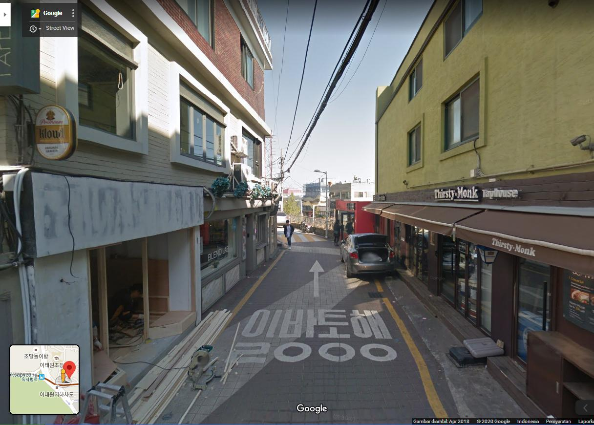 how to get to danbam cafe itaewon class