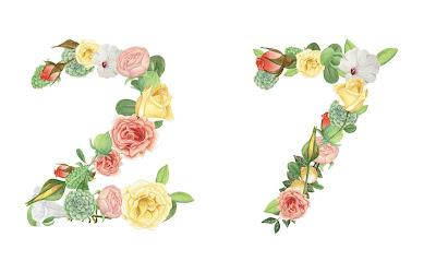 A floral number 27
