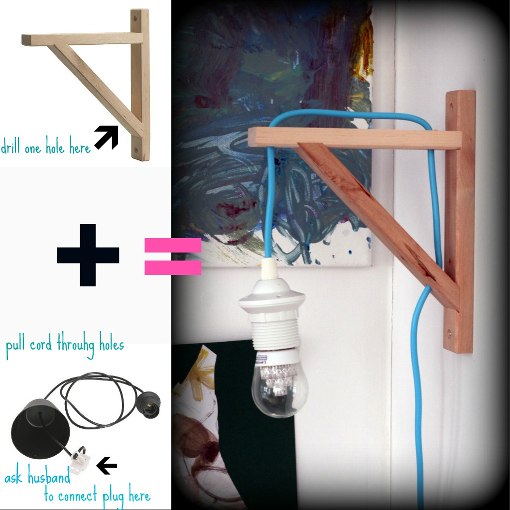 Cheap Cool Lamps: Bag Of Pretty: The Cheapest Cool Lamp, Or The Coolest