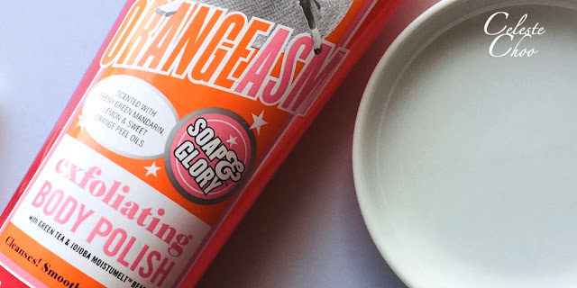 how to exfoliate your body with soap and glory body polish