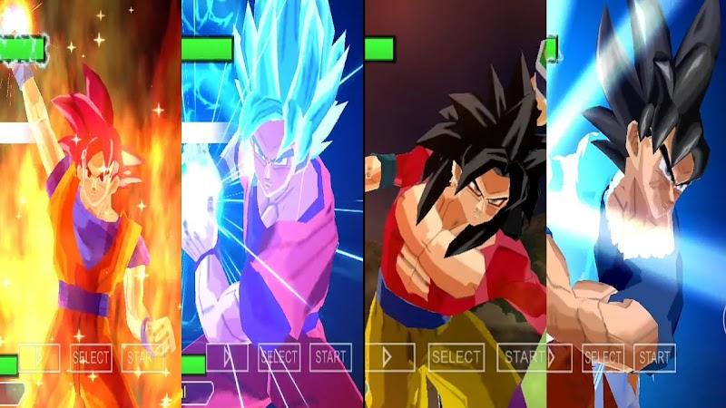 Android Game Dragon Ball Super Budokai Tenkaichi Tag Team Mod PSP ISO