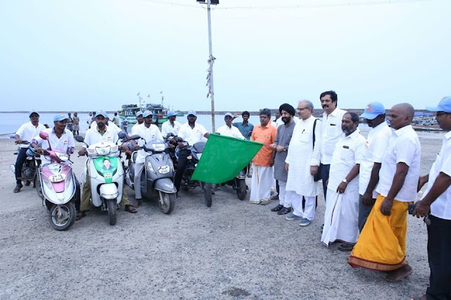 Sagar Putra Yatra by FANS creating awareness among society in coastal areas of Tamilnadu