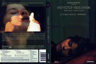 Carátula de dvd: La doble vida de Verónica