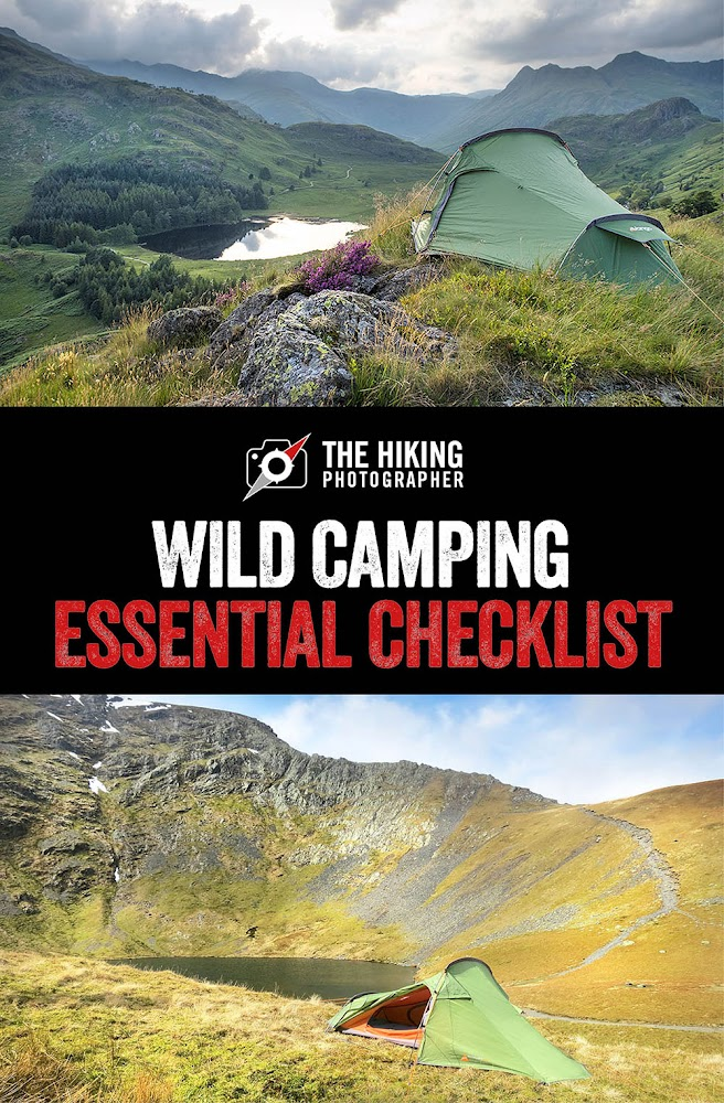 Wild camping lake district essential checklist