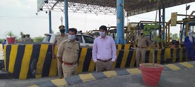 लॉकडाउन के दृष्टिगत आटा टोल टैक्स का स्थलीय निरीक्षण किया गया  -जिलाधिकारी जालौन   Terrestrial inspection of flour toll tax was done in view of lockdown - District Magistrate Jalaun     संवाददाता, Journalist Anil Prabhakar.                 www.upviral24.in