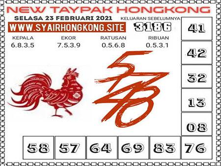 Prediksi New Taypak HK Selasa 23 Februari 2021