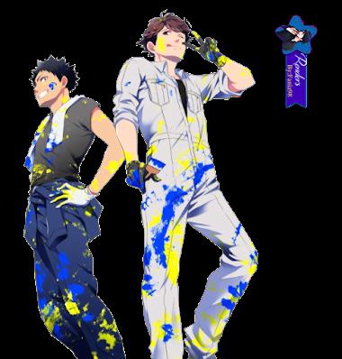 Haikyuu! Iwaizumi & Oikawa