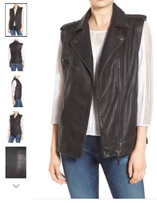Nordstrom Anniversary Sale Leather Vest