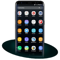 Launcher Samsung Galaxy S8 Theme Apk free for Android