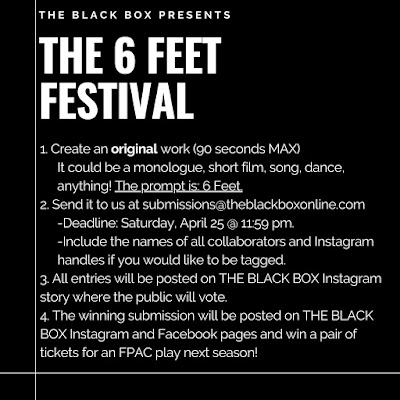 Submissions Still Open for The 6 Feet Festival