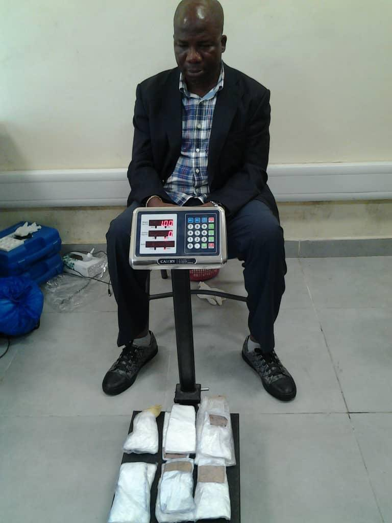 How NDLEA Arrests Former Lagos LG Chairman With Cocaine Worth Millions At Airport