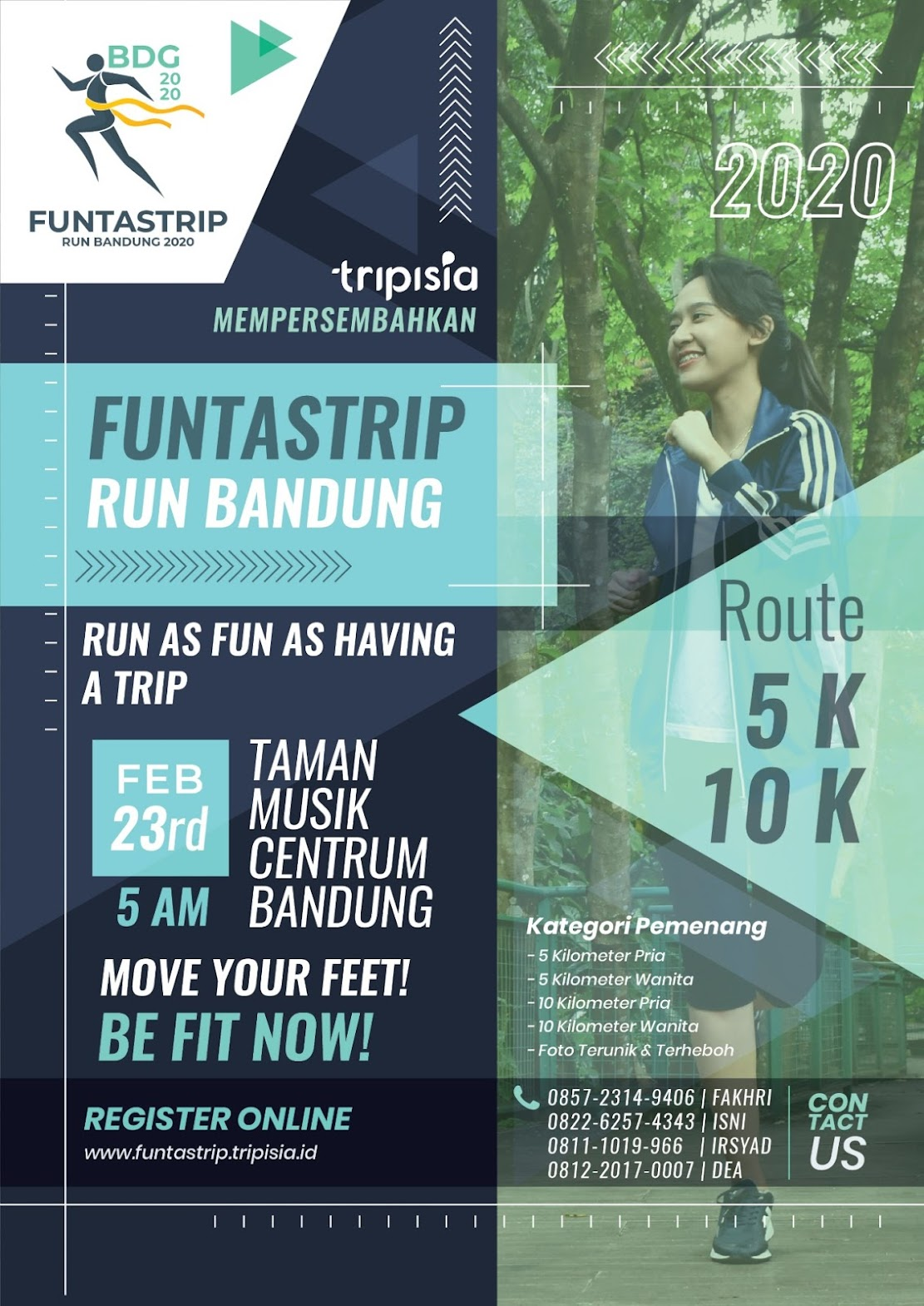 Funtastrip Run - Bandung • 2020
