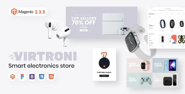 Best Smart Electronics Store Magento 2 Theme