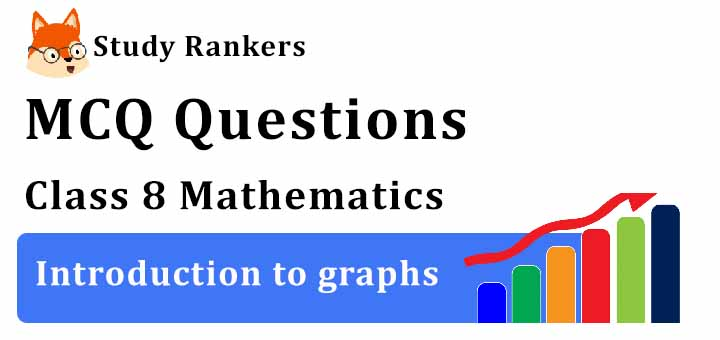 MCQ Questions for Class 8 Maths: Ch 15 Introduction to graphs