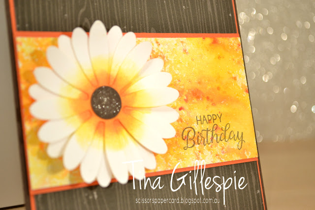 scissorspapercard, Stampin' Up!, Brushos, Beautiful Bouquet, Daisy Delight, Coffee Break DSP