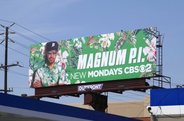 Magnum PI season 1 billboard