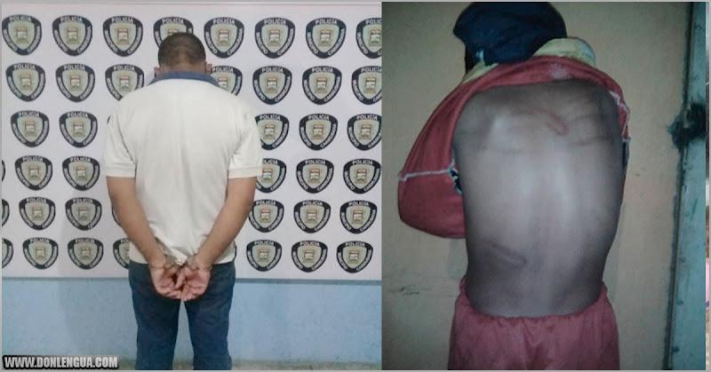Individuo detenido en Punto Fijo por golpear salvajemente a un niño de 8 años