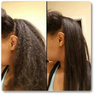Glamfields Straightening Brush for black hair