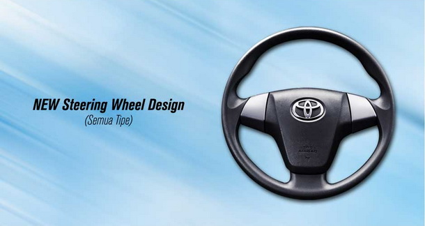 New Steering Wheel Disgn