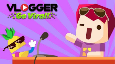 Download Vlogger Go Viral - Tuber Game (MOD, Unlimited Gems) free on android games