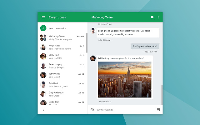 تطبيق Hangout - تطبيق Zoom - تقنيات مساندة للتعليم الإلكتروني نعرض لكم في هذا الموضوع منصات توفر صفوف افتراضية للاجتماع عن بعد - موقع دروس4يو Dros4U