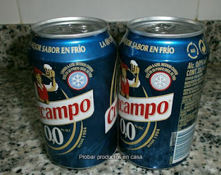 Disfrutabox Cruzcampo 0,0 color del frío