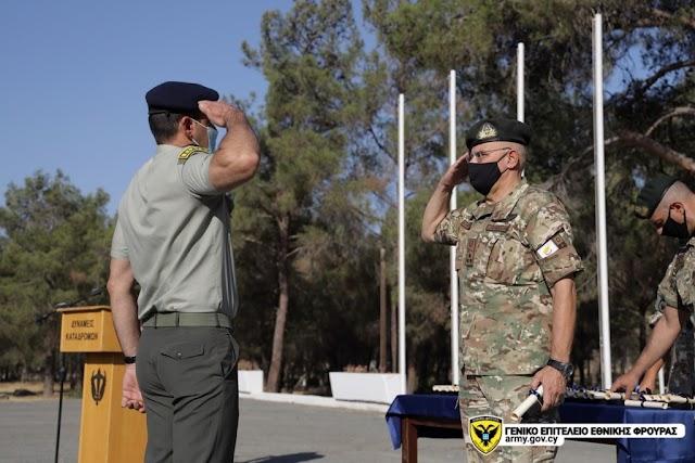 Απονομή Διαμνημονεύσεων στα εξ Ελλάδος Στελέχη που υπηρετούν στην Κύπρο (ΦΩΤΟ)