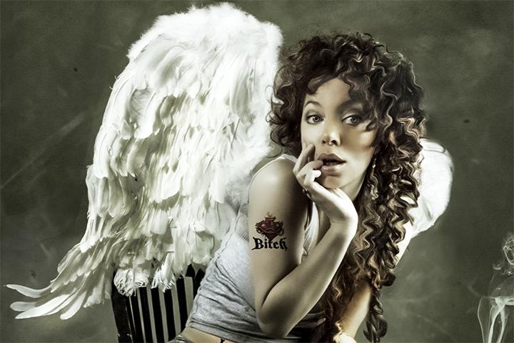 Ангел в сахарном сиропе
